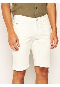 Białe spodenki jeansowe Tommy Jeans