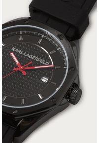 Czarny zegarek Karl Lagerfeld klasyczny