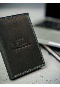 ALWAYS WILD - Portfel męski skórzany Always Wild N4-MHU-RFID-2106 BLA czarny. Kolor: czarny. Materiał: skóra