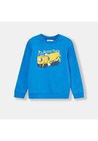 Niebieska bluza Sinsay #1