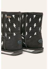 EMU Australia - Emu Australia - Śniegowce Lightning Bolt Brumby. Kolor: szary. Materiał: guma, syntetyk, materiał, skóra, wełna. Szerokość cholewki: normalna. Sezon: zima #4