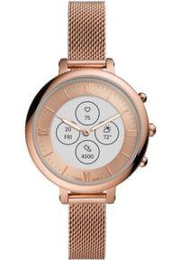 Fossil smartwatch FTW7039 Hybrid Watch F Monroe Rose Gold Steel. Rodzaj zegarka: smartwatch. Kolor: różowy. Styl: klasyczny, elegancki