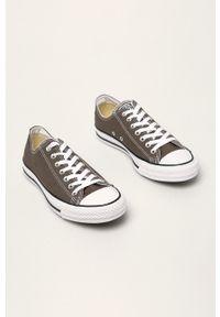 Converse - Tenisówki. Nosek buta: okrągły. Zapięcie: sznurówki. Kolor: szary. Materiał: guma