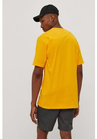Vans - T-shirt. Okazja: na co dzień. Kolor: pomarańczowy. Wzór: nadruk. Styl: casual