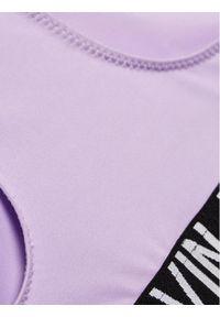 Fioletowy strój dwuczęściowy Calvin Klein Swimwear