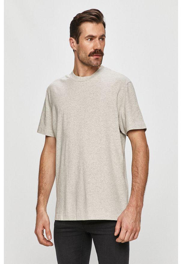 Szary t-shirt AllSaints