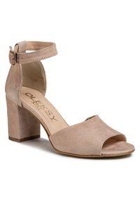 Beżowe sandały Oleksy