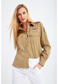 Koszula Aeronautica Militare elegancka, na co dzień