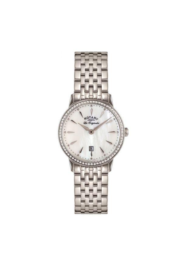 Niebieski zegarek ROTARY elegancki
