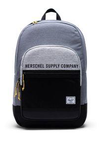 Szary plecak Herschel z nadrukiem