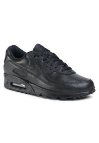 Czarne półbuty Nike eleganckie, na co dzień