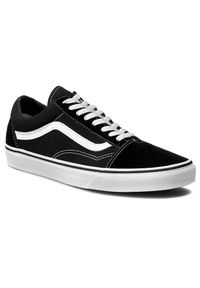 Czarne buty sportowe Vans Old Skool, z cholewką