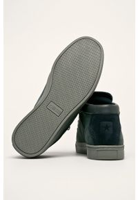 Niebieskie sneakersy Big-Star z cholewką, na sznurówki