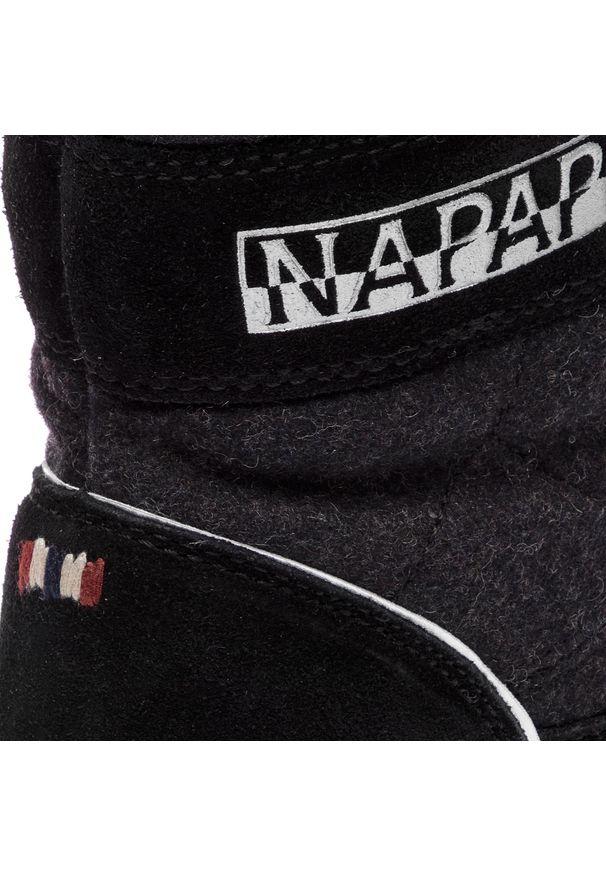 Czarne botki Napapijri