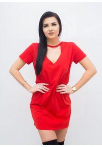 Czerwona sukienka Fanaberia.com mini