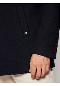 Czarny płaszcz przejściowy #7