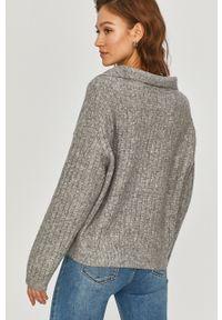 Szary sweter Answear Lab z długim rękawem, wakacyjny, długi