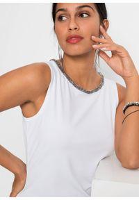 Biały top bonprix elegancki