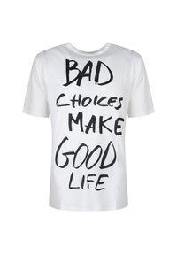 T-shirt Antony Morato na co dzień, z nadrukiem, casualowy
