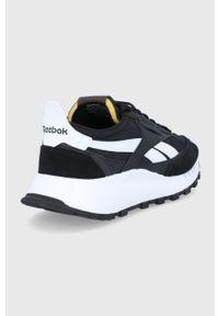 Reebok Classic - Buty CL LEGACY. Nosek buta: okrągły. Zapięcie: sznurówki. Kolor: czarny. Materiał: guma. Model: Reebok Classic