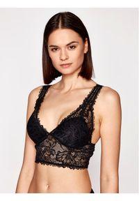 Czarny biustonosz braletka Emporio Armani Underwear