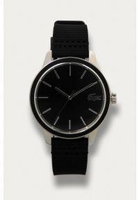Lacoste - Zegarek Paris 2011087. Kolor: czarny. Materiał: materiał