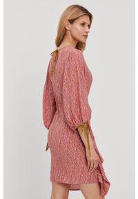 Beatrice B - Sukienka. Materiał: tkanina. Typ sukienki: rozkloszowane