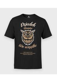 MegaKoszulki - Koszulka męska Dziadek wie wszystko. Materiał: bawełna