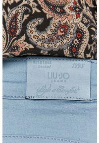 Niebieskie spodnie materiałowe Liu Jo