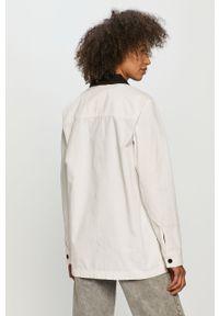 Biała kurtka Vans gładkie