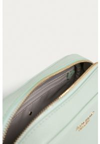 Kate Spade - Torebka skórzana. Kolor: turkusowy. Materiał: skórzane. Rodzaj torebki: na ramię #3