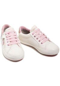 Geox Sneakersy J Gisli G. B J024NB 0AW54 C0406 S Biały. Kolor: biały
