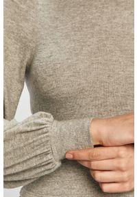 TALLY WEIJL - Tally Weijl - Sweter. Okazja: na co dzień. Kolor: szary. Materiał: dzianina. Długość rękawa: długi rękaw. Długość: długie. Styl: casual