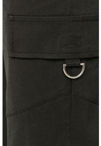 Czarne spodnie materiałowe TALLY WEIJL casualowe, na co dzień