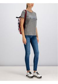 Pepe Jeans T-Shirt Mirilla PL504279 Szary Regular Fit. Kolor: szary