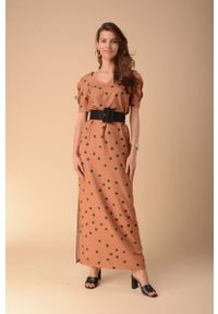 Sukienka wizytowa Nommo prosta, maxi