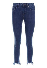 Niebieskie jeansy slim MAX&Co.
