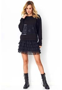 Czarna spódnica Makadamia