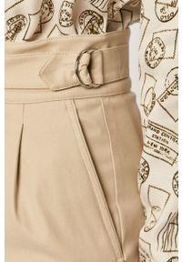 Beżowa spódnica Sportmax Code na co dzień, casualowa