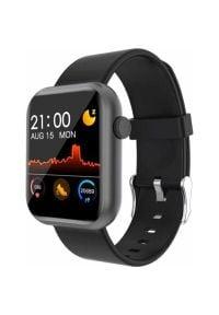 Colmi - Smartwatch COLMI P9 Czarny. Rodzaj zegarka: smartwatch. Kolor: czarny. Styl: casual