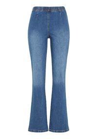 Cellbes Dżinsowe legginsy Evelina ciemnoniebieski female niebieski 50S. Kolor: niebieski. Materiał: guma, materiał