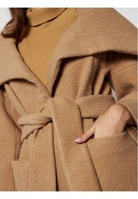 Brązowy płaszcz przejściowy MAX&Co.