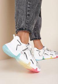 Białe buty sportowe Renee #5