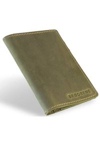 Zielony portfel BRODRENE