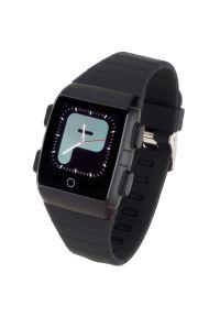 Czarny zegarek GARETT młodzieżowy, smartwatch