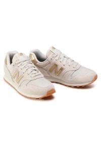 Beżowe buty sportowe New Balance New Balance 373