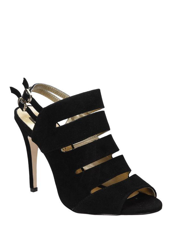 Czarne sandały Mario Bolucci na lato, na co dzień