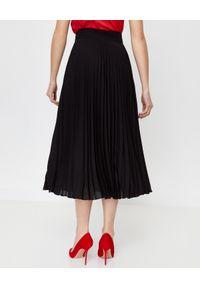 LA MANIA - Plisowana spódnica Lang w kolorze czarnym. Kolor: czarny. Materiał: materiał. Sezon: jesień. Styl: klasyczny #5