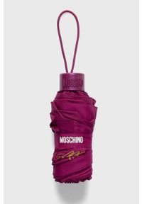 Fioletowy parasol MOSCHINO