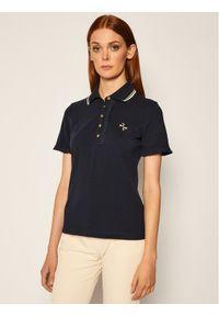 Niebieska koszulka polo Tory Burch polo